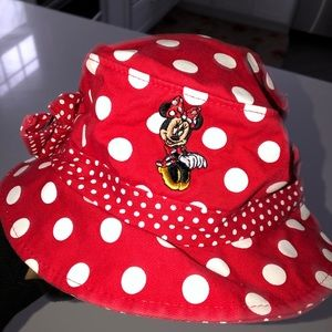 Minnie mouse hat red Polka dot Disney parks os